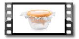 Souprava pro přípravu krémového sýru DELLA CASA