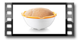 Gärkörbchen mit Schale für hausgemachtes Brot DELLA CASA