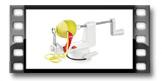 Descascador e cortador de maçã HANDY