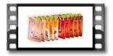 Násypky pre vrecká s korením SEASON 10 ks, na závesnej lište