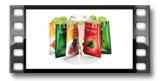 Dispensadores para sacos de especiarias SEASON 12 pcs, com suporte rotativo