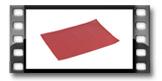 Platzset FLAIR CLASSIC 45x32 cm, granatapfelrot