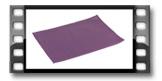 Prostírání FLAIR CLASSIC 45x32 cm, lila