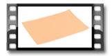 Prostírání FLAIR LITE 45x32 cm, lososová