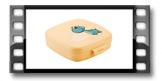 Gesunde Sandwich-Dose DINO