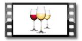 Copos de vinho UNO VINO 350 ml, 6 pcs