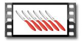Nůž jídelní PRESTO 12 cm, 6 ks