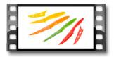 Nóż antyadhezyjny uniwersalny PRESTO TONE 8cm