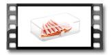 Zdravá dóza do chladničky PURITY 22x14 cm