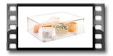 Zdravá dóza do ledničky PURITY 28x22 cm, vysoká