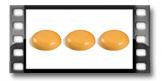 Vonný vosk FANCY HOME 3x 25 g, Citronová tráva