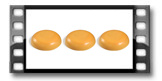 Duftwachs FANCY HOME 3 x 25 g, Zitronengras